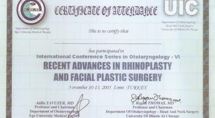 Rinoplasti ve Yüze uygulanan plastik cerrahideki en güncel ilerlemeler, burun estetiği.