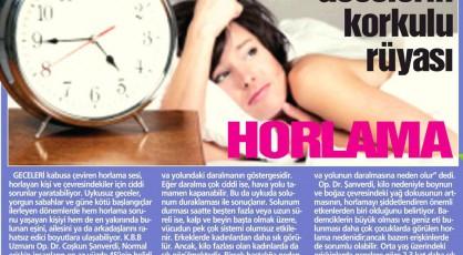 uyku apnesi tedavi merkezleri, horlama ameliyati