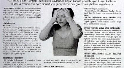 alerjik sinüzit tedavisi, sinüzit ameliyatı fiyatı