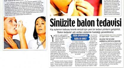 kronik sinüzit ameliyatı, alerjik sinüzit belirtileri