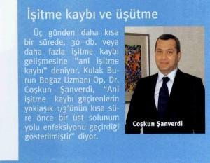 Kulakta İşitme Kaybı, Özel Kbb Hastaneleri, İstanbul KBB Doktoru